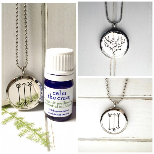 oil diffusing necklaces
